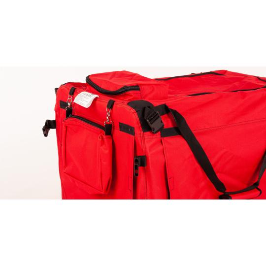 Skládací kenelka, cestovní box COOL PET PLUS 3XL červená 102 x 69 x 80 /výška/ cm