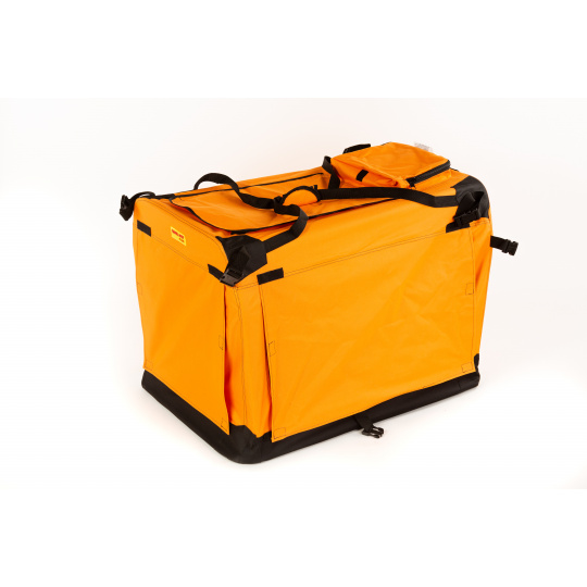 Hundebox 5XL 122*79*99cm orange COOL PET PLUS