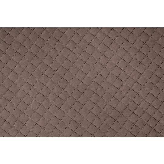 Hřejivá matrace velur popelavě černá spodní strana šedá ekokůže 4XL120x80cm 10cm hoch