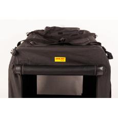 Skládací box,kenelka COOL PET PLUS S černá 50 *35 *35 cm